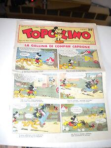 20 RIPRODUZIONI prime pagine TOPOLINO anni 30