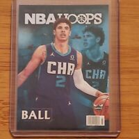 2020-21 Panini NBA Hoops LaMelo Ball RC Rookie Special SP - Charlotte Hornets