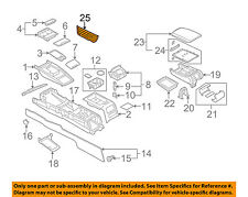 AUDI OEM 05-11 A6 Quattro Console-Map Pocket 4F18616906PS