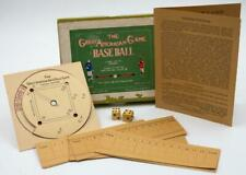 Vintage 1906 THE GREAT AMERICAN GAME BASE BALL Board Game. Harvard Yale COMPLETE