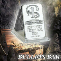 Decoration Bars 1 oz Northwest Territorial Mint Silver Bar .999 Collection Art