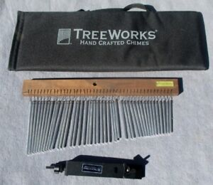 Treeworks TRE 44 Chime Single Row 44 Bars with Mounting Bracket amd Carry Bag