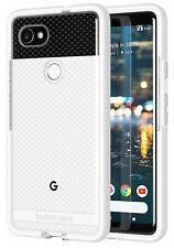 Tech21 White Clear EVO Check Anti-Shock Case TPU Cover for Google Pixel 2 XL