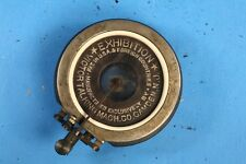 Victor Victrola Exhibition Phonograph Reproducer - Nickel, new gaskets & flange