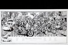 THE SILVER SCREEN GANG - HOWARD TEMAN POSTER (48x90cm)  NEW LICENSED ART