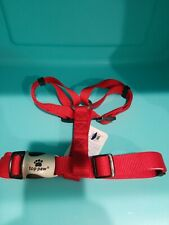 Top Paw Adjustible Harness Red L Large AH