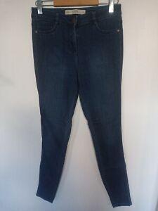 Ladies Next The Legging Stretch Skinny Blue Jeans Size 12 Long Leg 32''