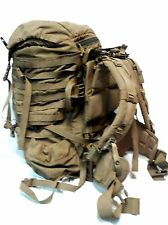 USMC FILBE Rucksack Main Pack Coyote Brown Shoulder Straps/Hip Belt/ Molle Frame