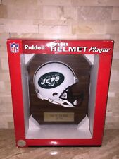 RIDDELL NFL NEW YORK JETS MINI HELMET WALL PLAQUE