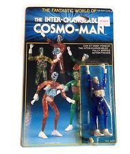 Retro 70s 80s Vintage Toy COSMO MAN Micronauts 3.75 robot toy figure takara RARE