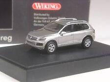 Klasse: Wiking Sondermodell VW Touareg NEU silber metallic in OVP