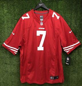 NEW Authentic Nike San Francisco 49ers Colin Kaepernick 7 Jersey Men 2X On Field