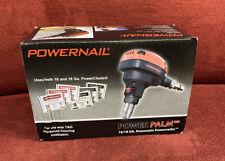 POWENAIL POWER PALM 16/18 GA. Pneumatic Hardwood Flooring Cleat Nailer Tool NEW!