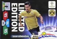 13/14 Panini Adrenalyn Champions League EXCLUSIVE Ilkay Gundogan Limited Edition