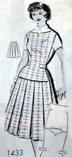 *LOVELY VTG 1960s JERKIN & SKIRT Sewing Pattern 18/38