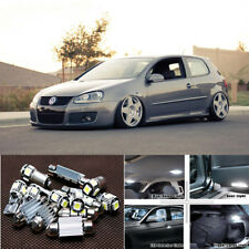 14pcs white Interior LED light kit for VW Golf 5 MK5 GTI Rabbit (2006-2009)