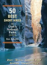 50 Best Short Hikes in Utah's National Parks, very good cond, free US shipping