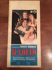 locandina,S10,Il volto Ansiktet Ingmar Bergman Max von Sydow,Ingrid Thulin,1959