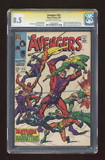 Avengers #55 CGC 8.5 SS Stan Lee 1235634003 1st full app. Ultron
