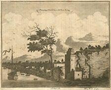 CHINA. Nan Yang [NANCHANG], on the River Kyang [Gan]. PARR 1746 old print