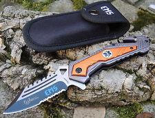 Albainox BORDER RESCUE EMS Rescue Knife Rettungsmesser Messer + Etui 18044A