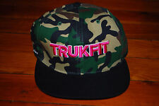 NEW Trukfit Pink Camo Snapback Hat (Adjustable)
