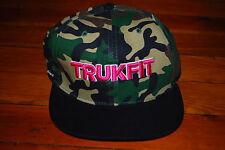 NEW Trukfit Pink Camo Snapback Hat (Adjustable)