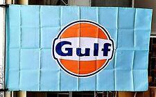 New listing New Advertising Gulf Motor Oil Logo Flag 3'x5' Vehicle Car Garage Banner