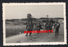 - prisonniers chars soldats-France-wehrmacht-Marche - stock -