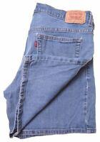LEVI'S Womens 515 Denim Shorts W32 Blue Cotton Nouveau IV11