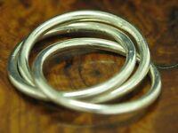 925 STERLING SILBER MERHFACH RING / ECHTSILBER / RG 54 / 6,0g