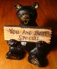 Free Bear Hugs / You Are Beary Special Black Bear Lodge Signs Cabin Decor New