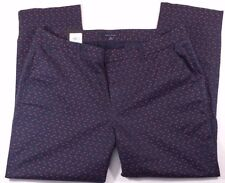 NWT Women's Tommy Hilfiger Madison Stretch Slim Chino Blue/Red Triangles 18  $69