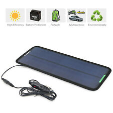 7.5W Portable Solar Panel Power Battery Charger 12V Maintainer Marine Boat Car