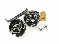 Cinelli handlebar tape white black cork ribbon swirl splash vintage bike NOS