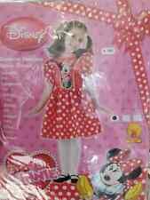 vestito   minnie bambina 3-4 anni cm104 carnevale originale disney