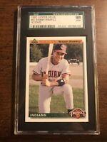 1992 Upper Deck Manny Ramirez ROOKIE #63 SGC 10 GEM MINT Boston Red Sox Dodgers