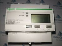 New Schneider Electric A9MEM3110 / 3 Phase kWh meter 63A Pulse Output iEM3110