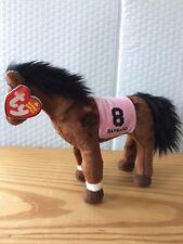 "Ty Beanie Baby Babies BARBARO the Racehorse 7"" (2006 Kentucky Derby Winner) MWMT"