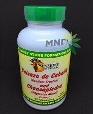 Guisazo de Caballo and Chancapiedra by Sunshine Naturals 90 capsules rinones