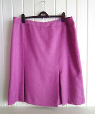 BNWOT - LADIES BRIGHT PINK SMART WINTER SKIRT BY AUTOMONY - SIZE 20