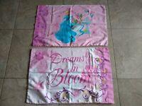 Set of 2 Disney Cinderella Dreams in Bloom Pillowcases