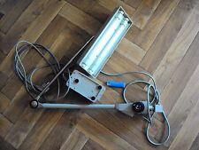 lampe d'architecte articulée waldmann a deux néons