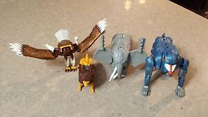 Transformers Beast Wars Magnaboss, Prowl, Ironhide, Silverbolt  also B'Boom