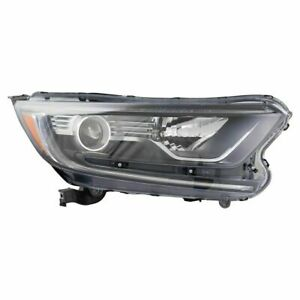 FITS FOR HONDA CR-V 2017 2018 2019 HEADLIGHT HALOGEN RIGHT PASSENGER