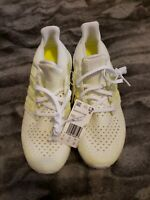 Adidas Ultra Boost Clima White 'Solar Yellow' Running [AQ0481] Men's Size 9.5