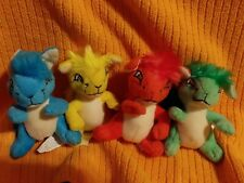 Mcdonalds Happy Meal Toy Neopets Kyrii Stuffed Plush Lot of 4