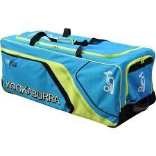 Kookaburra Pro 800 Senior Club Level Cricket Bag Holdall Wheelie Bag Blue/Yellow
