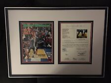 Michael Jordan Autograph 1984 Sports Illustrated with JSA LOA Extremely Rare!
