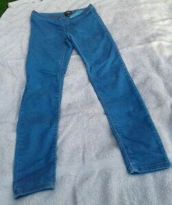 Women's Topshop Maternity Jeans Blue Leggings Size 8